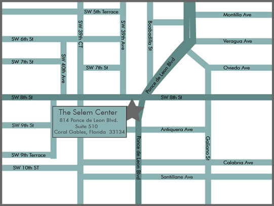 Coral Gables Eye Center Directions